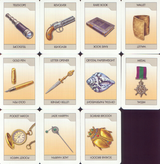 photograph about Printable Clue Game Cards called Cluedo Clue Boardgames