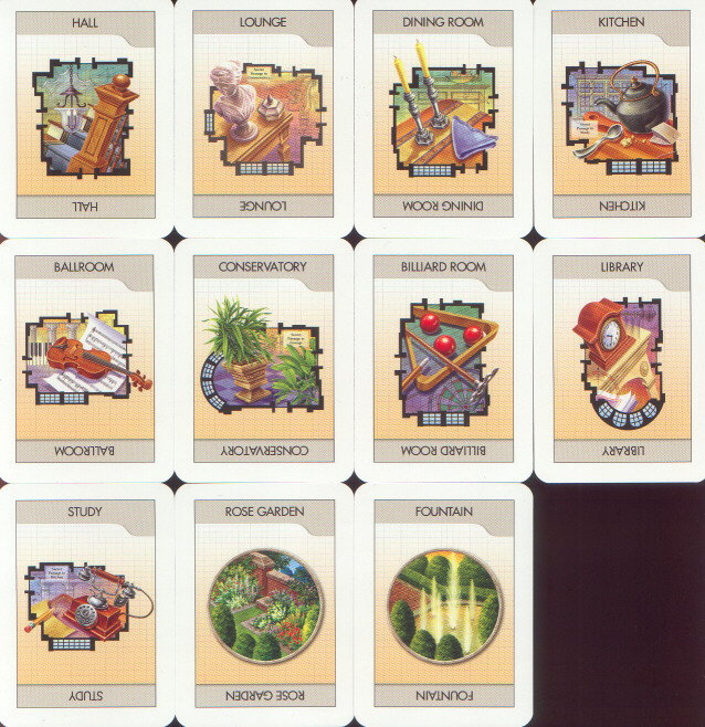 picture regarding Clue Game Board Printable called Cluedo Clue Boardgames