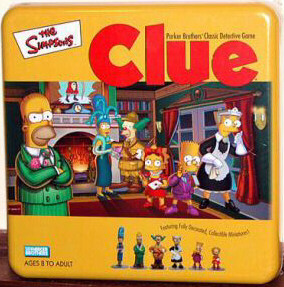 The simpsons clue 3rd third edition factory sealed new! Very.